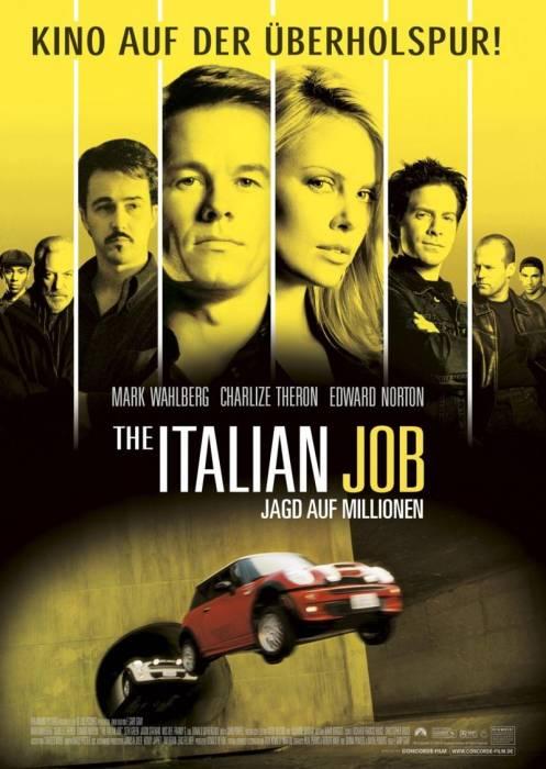 фильм Ограбление по-итальянски