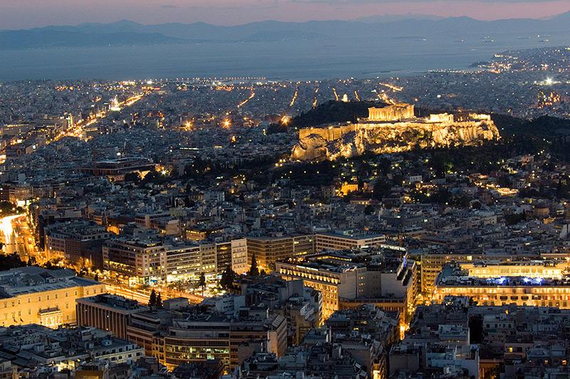 Афины – город мифов