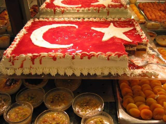 блюда Турции